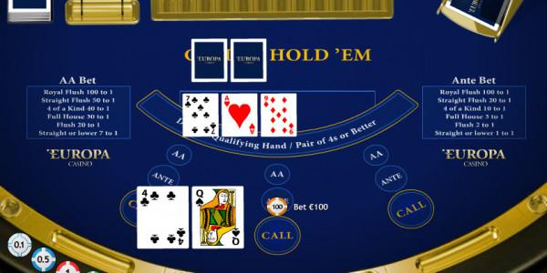 Casino Hold 'Em MCPcom Playtech2
