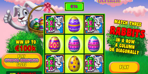 Easter Surprise Scratch MCPcom Playtech2