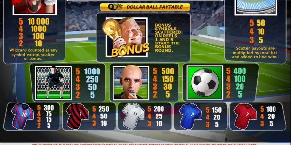Football Rules MCPcom Playtech pay
