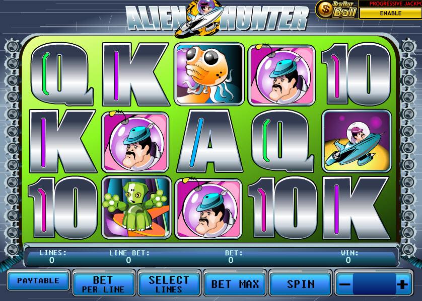 Alien Hunter MCPcom Playtech