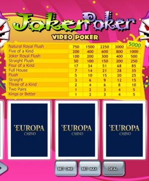 Joker Poker MCPcom Playtech