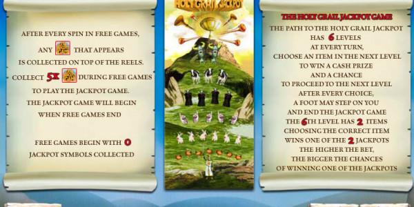 Monty Python's Spamalot MCPcom Playtech pay2