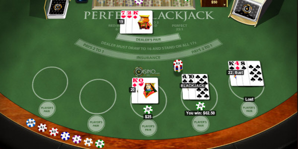 Perfect Blackjack MCPcom Playtech3