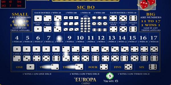 Sic Bo MCPcom Playtech3