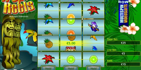 Tropic Reels MCPcom Playtech win