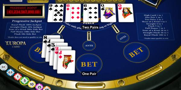 Caribbean Stud Poker MCPcom Playtech3