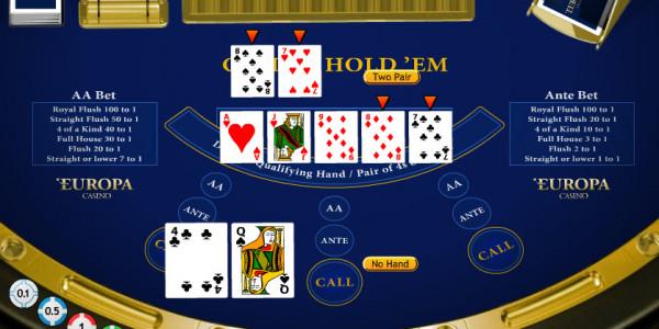 Casino Hold 'Em MCPcom Playtech3