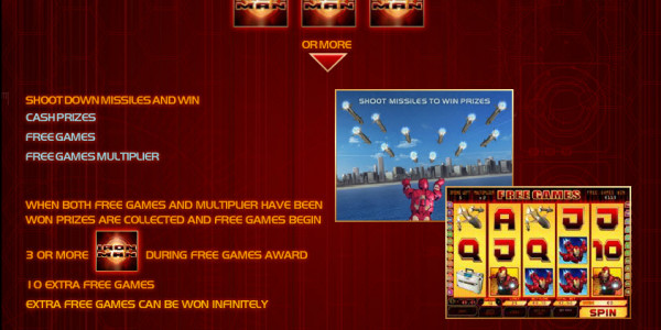 Iron Man MCPcom Playtech pay2