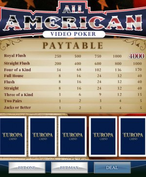 All American MCPcom Playtech