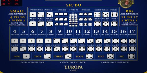 Sic Bo MCPcom Playtech