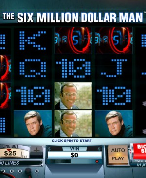 Six Million Dollar Man MCPcom Playtech