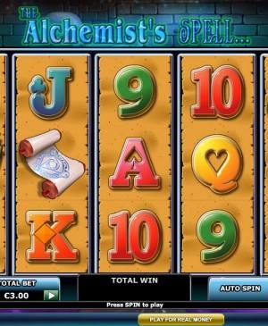 The Alchemist's Spell MCPcom Playtech