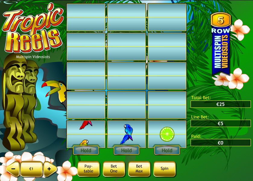 Tropic Reels MCPcom Playtech