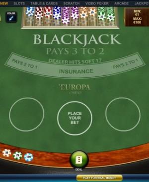 Blackjack Pro MCPcom Playtech