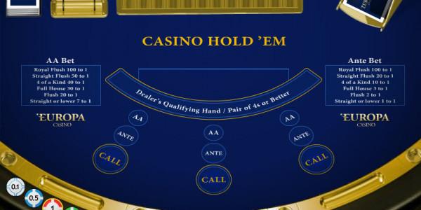 Casino Hold 'Em MCPcom Playtech