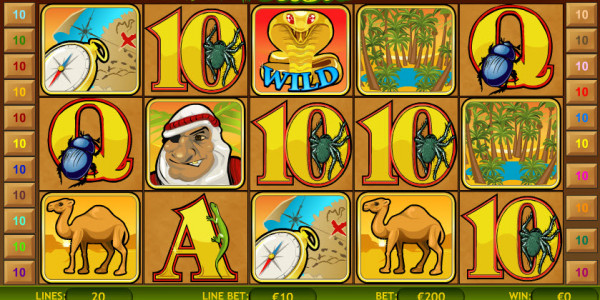 Desert Treasure MCPcom Playtech