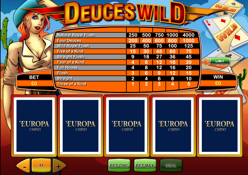 Deuces Wild MCPcom Playtech