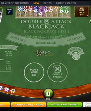 Double Attack Blackjack MCPcom Playtech