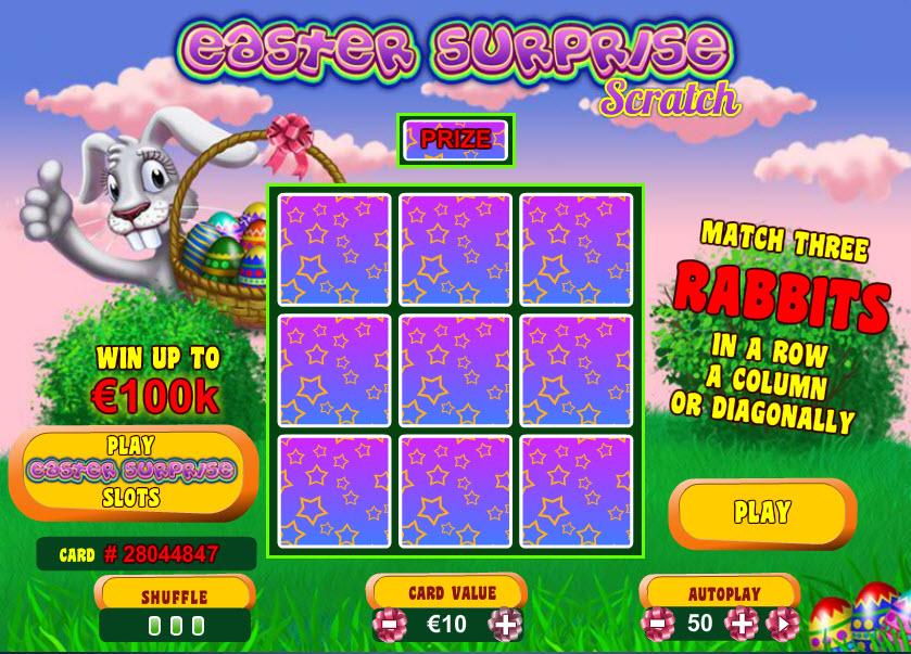 Easter Surprise Scratch MCPcom Playtech