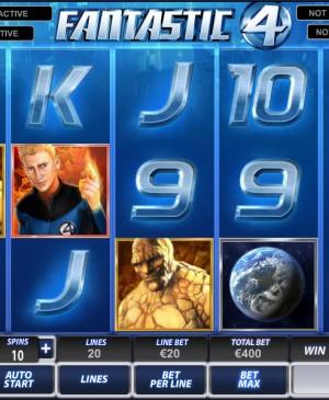 Fantastic Four MCPcom Playtech