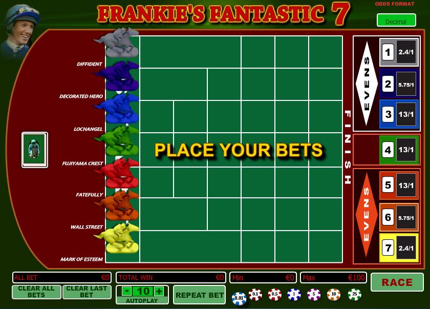 Frankie's Fantastic 7 MCPcom Playtech