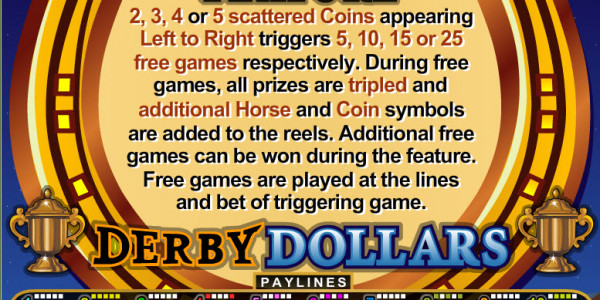 Derby Dollars MCPcom RTG pay