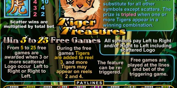 Tiger Treasures MCPcom RTG pay