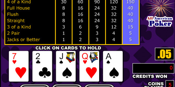 All American Poker MCPcom RTG2