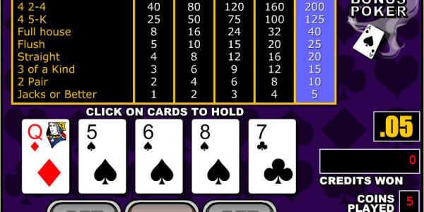 Bonus Poker MCPcom RTG3