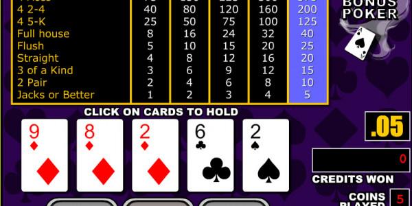 Double Bonus Poker MCPcom RTG2