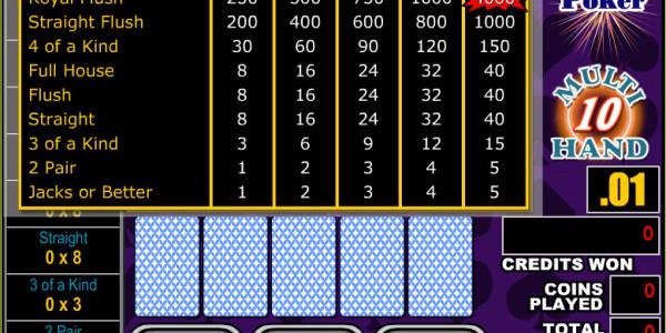 All American Poker 10 Hands MCPcom RTG2
