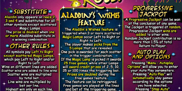 Aladdin's Wishes MCPcom RTG pay2