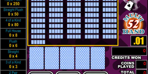 Bonus Poker Deluxe 52 Hands MCPcom RTG