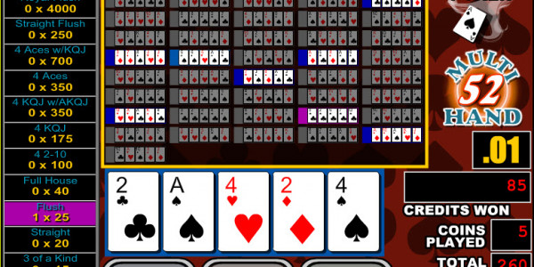 Double Jackpot Poker 52 Hands MCPcom RTG3