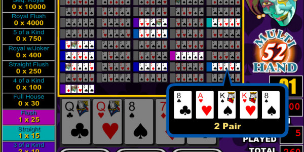 Joker Poker 52 Hands MCPcom RTG3