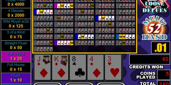 Loose Deuces 52 Hands MCPcom RTG3