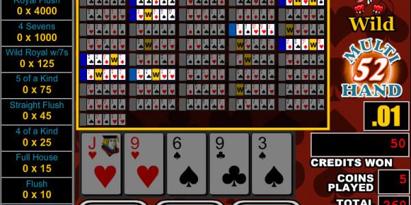 Sevens Wild 52 Hands MCPcom RTG3