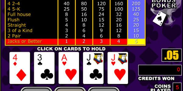 Bonus Poker MCPcom RTG2