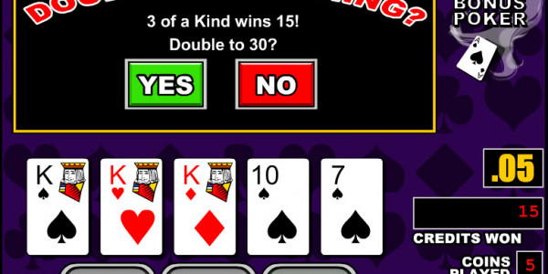 Double Bonus Poker MCPcom RTG3