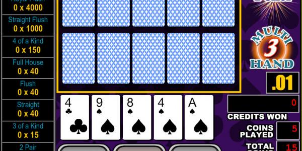 All American Poker 3 Hands MCPcom RTG3