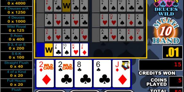 Bonus Deuces Wild 10 Hands MCPcom RTG2