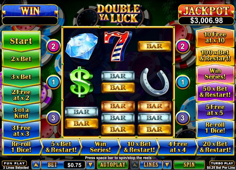 Double Ya Luck MCPcom RTG