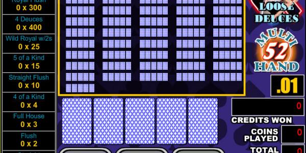 Loose Deuces 52 Hands MCPcom RTG