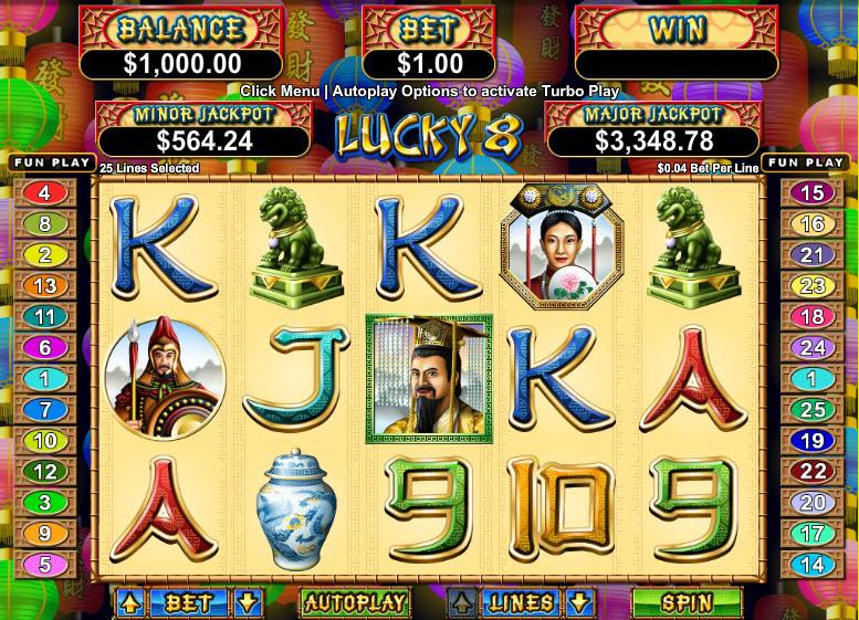 Lucky 8 MCPcom RTG