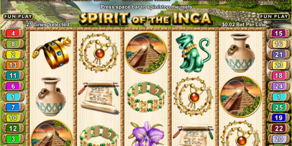Spirit of the Inca MCPcom RTG