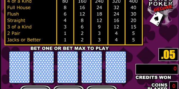 Bonus Poker Deluxe MCPcom RTG