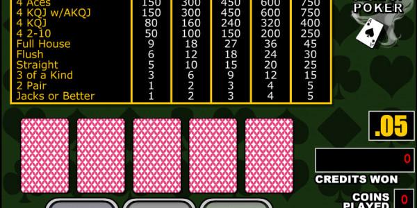 Double Double Jackpot Poker MCPcom RTG