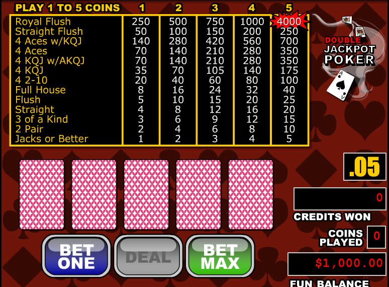 Double Jackpot Poker MCPcom RTG