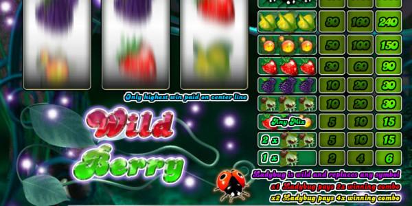 Wild Berry — 3 Reels MCPcom Saucify2