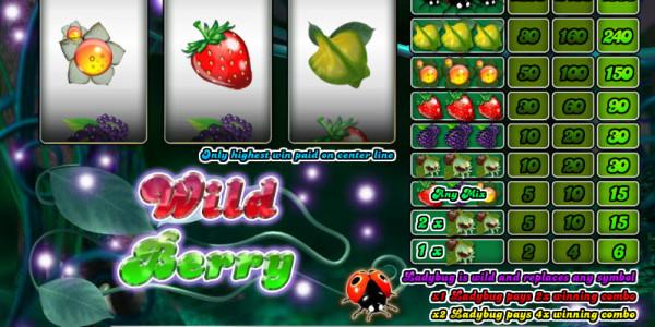 Wild Berry — 3 Reels MCPcom Saucify